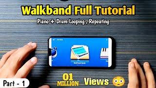 Walkband Full Tutorial | 300K Special 🤩 | How To Loop or Repeat In Walkband screenshot 3