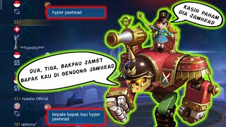 Hyper Jawhead di Remehkan? Sini gua Carry pakai Jawhead | Mobile Legends Gameplay