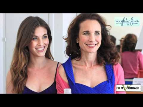 Andie MacDowell & Rainey Qualley talk MIGHTY FINE