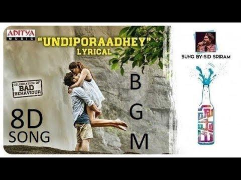 Undiporaadey sad version background music | husharu movie bgm |I