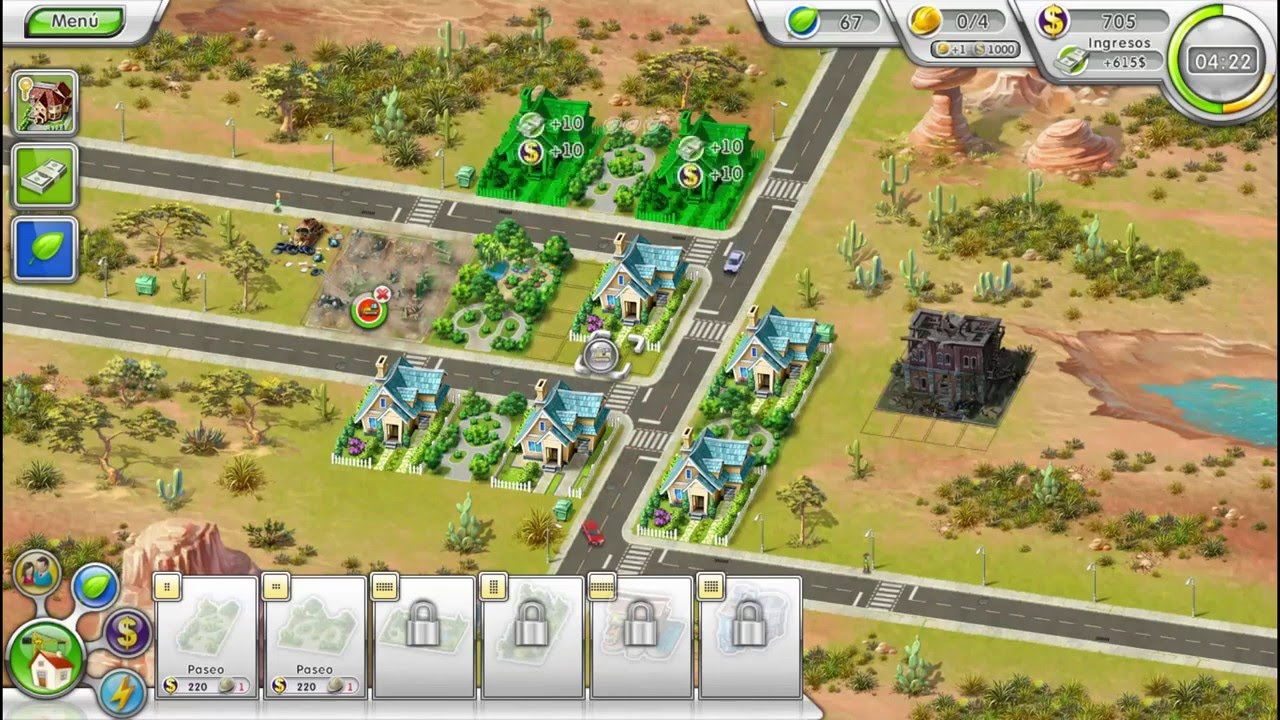 Descargar juego de construir casas green city 2 en espa ol for De construir casas