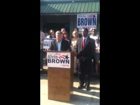 Tommy Hazouri Endorses Alvin Brown