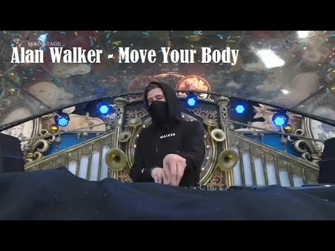 Alan Walker - Move Your Body Live Tomorrowland 2017