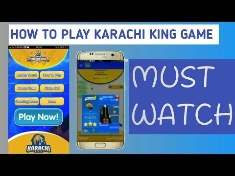 How to play Karachi king treasure hunt game on mobile || Karachi kings game full tutorial 2017(Urdu)