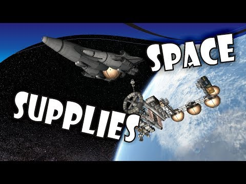 [15] SSTO Space Program - Orbital resupply mission, logistics and important decisions - KSP 1.2.2