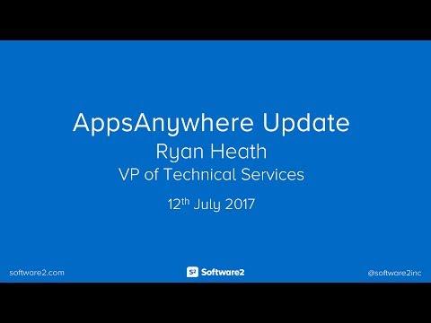 AppsAnywhere v2.2 - Update Webinar