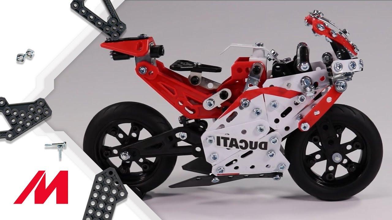 Toy Ducati Desmosedici Model Motorbike Kit GP 17 Meccano