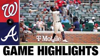 Nationals vs. Braves Game Highlights (8/08/21)
