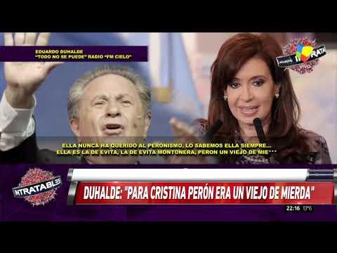Duhalde: Para Cristina