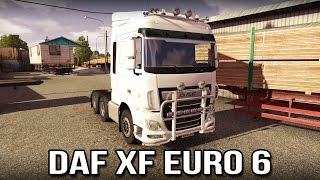 DAF XF Euro 6 Review (Euro Truck Simulator 2)