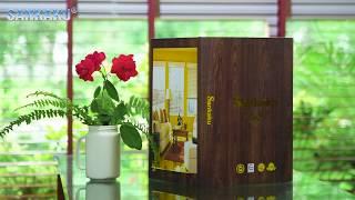 Mành gỗ Sankaku