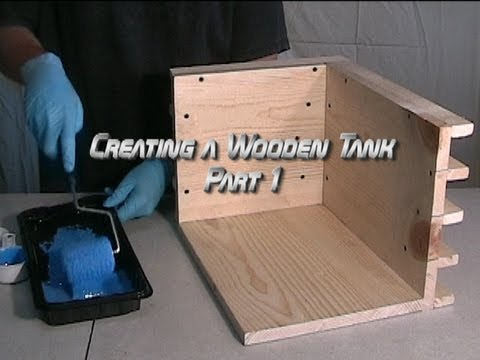 Creating a Wooden Tank Part 1