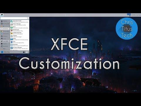 How To Customize XFCE   XFCE Customization