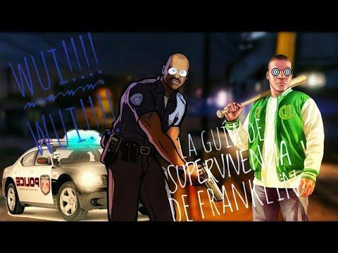 Tutorial de franklin para escapar de la policía fácilmente en GTA V!!!! (Parodia)
