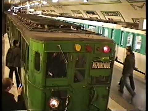 RATP : Rame historique Sprague sur la ligne 12 (2007)