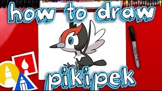 How To Draw Pikipek Pokemon