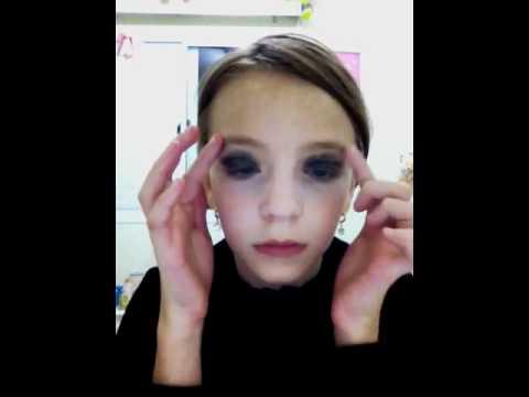 Maquiagem De Bruxinha Com A Natasha Youtube