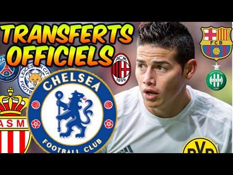 LES TRANSFERTS OFFICIELS !!! JAMES RODRIGUEZ A CHELSEA ? #9