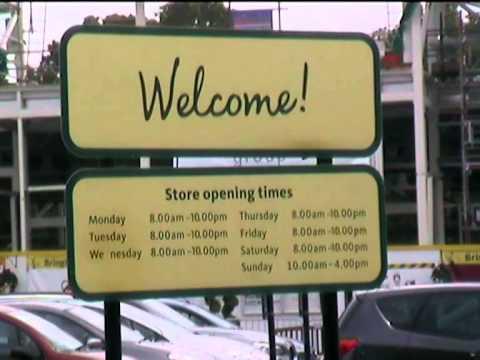Morrison's Supermarket Opening Times ,VerwoodDorset
