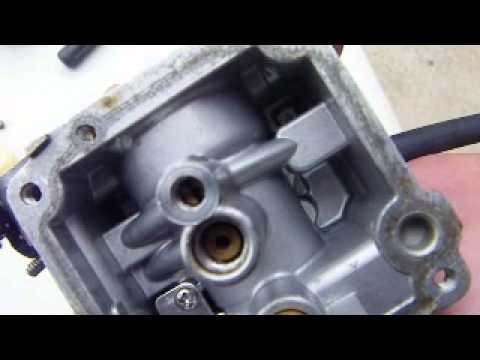 How to clean a carburetor on an 8hp Mercury outboard