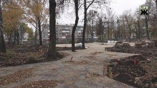 Нардеп Кривенко перевірив хід реконструкції скверу, роботи в якому виконуються за його сприяння