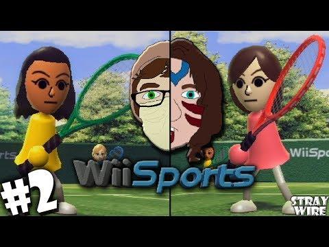 TENNIS   Wii Sports   Part 2   Stray Wire