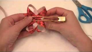 Twisted Boutique Hair Bow Tutorial - Simple To Follow Instructions