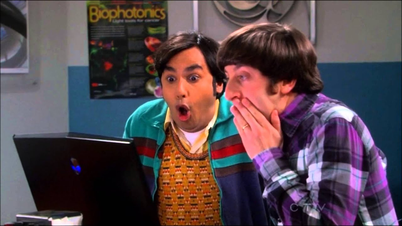 Image result for raj and howard
