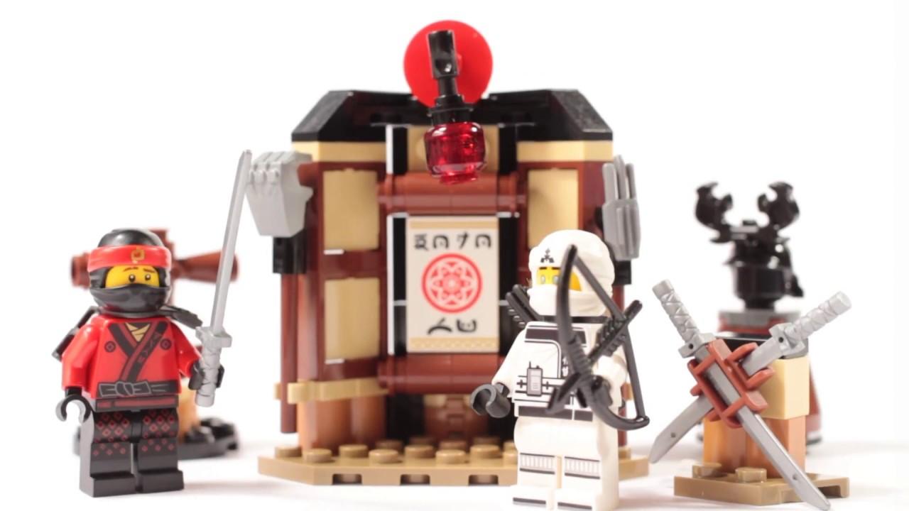 Lego 70606 O Filme Ninjago Spinjitzu treinamento Construção Kit Mini Figura 109 Pcs