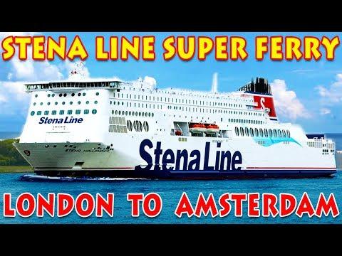 LONDON TO AMSTERDAM BY CRUISE | STENA LINE | HINDI | 2019