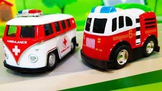 Мультики про полицейские машинки. Учим цвета вместе с  шариками. Видео для детей. learn colors