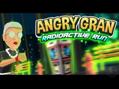 Angry Gran Radioactive Run - iPhone & iPad Gameplay