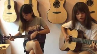Các bạn nữ trong gia đình Guitar Sao Mai Sài Gòn