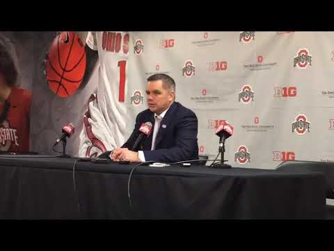 Ohio State basketball: Chris Holtmann after a loss to Penn State