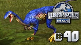 Blue....BLUE!?!? || Jurassic World - The Game - Ep 40 HD