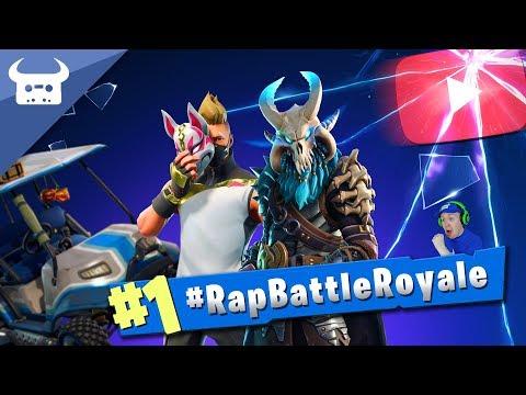 Mix - FORTNITE RAP BATTLE ROYALE (100 YouTubers rap on one song!) #RapBattleRoyale