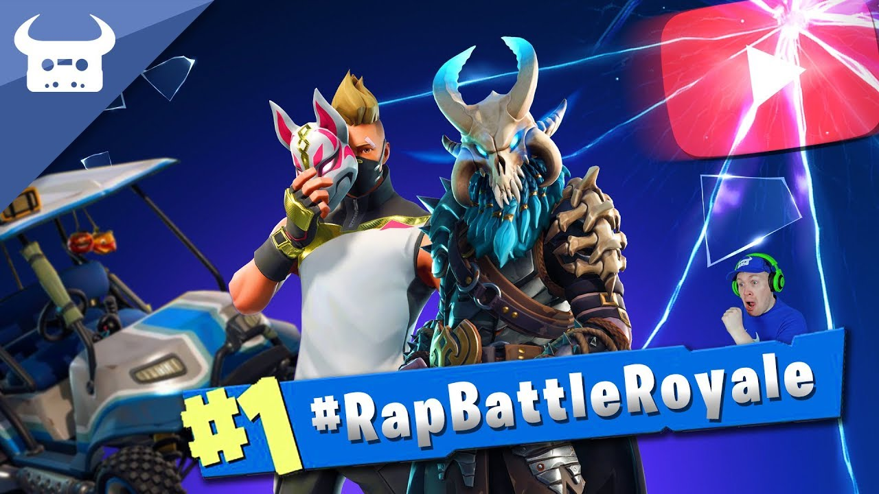 Fortnite Rap Battle Royale  Youtubers Rap On One Song Rapbattleroyale