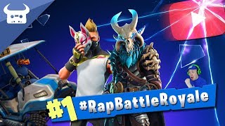 Gambar cover FORTNITE RAP BATTLE ROYALE (100 YouTubers rap on one song!) #RapBattleRoyale