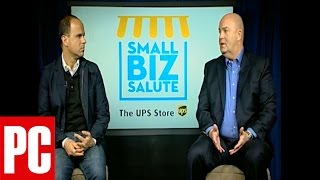 Talking Small Business Strategy with CNBC and The UPS Store