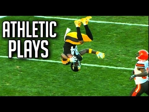 NFL Best  Athletic  Plays || HD