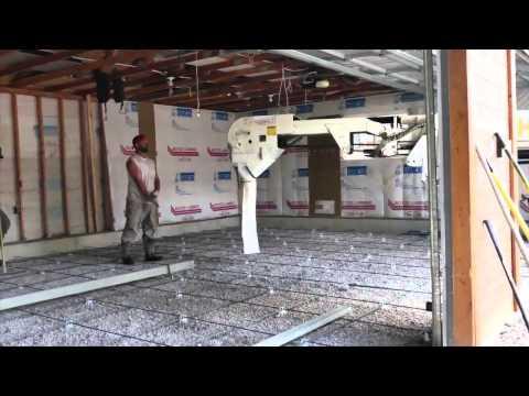 Concrete Floor in Existing Garage