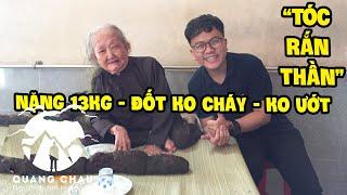 """Tóc Rắn Thần 6.1m được """"Tiên Phật Bện"""" suốt 61 năm mang nhiều câu chuyện tâm linh mầu nhiệm - Phần 2"""