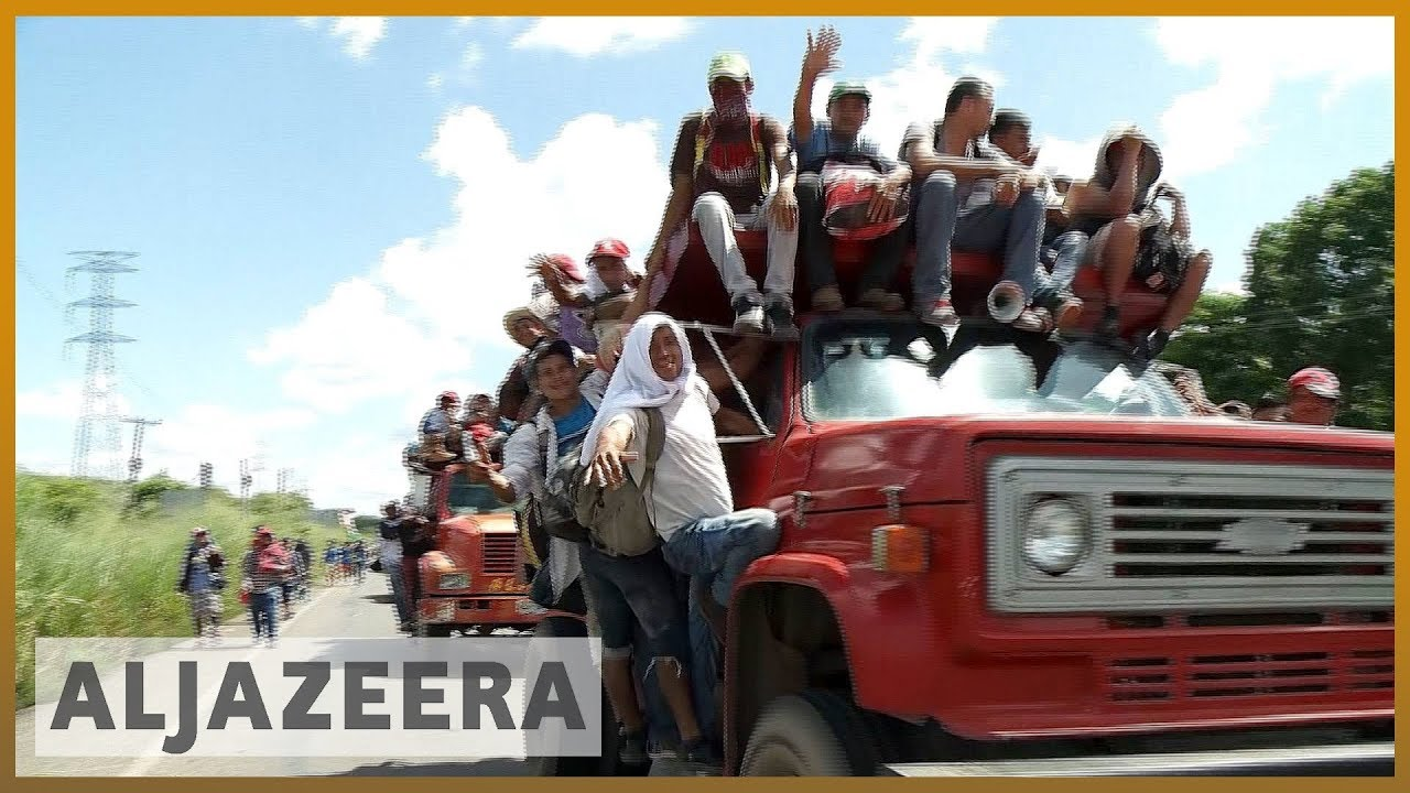 🇲🇽 Mexicans rally to migrant caravan, offering aid and support | Al Jazeera English