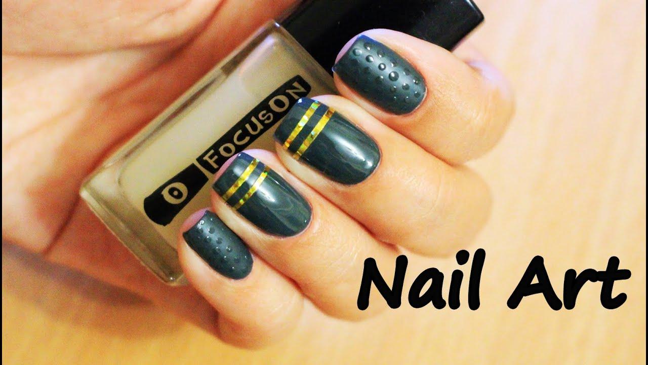 Дизайн ногтей со скотч лентой 40 фото новинок Модный 44