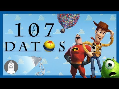 107 Datos De Pixar Que DEBES Saber (Atómico #208 ) en Átomo Network