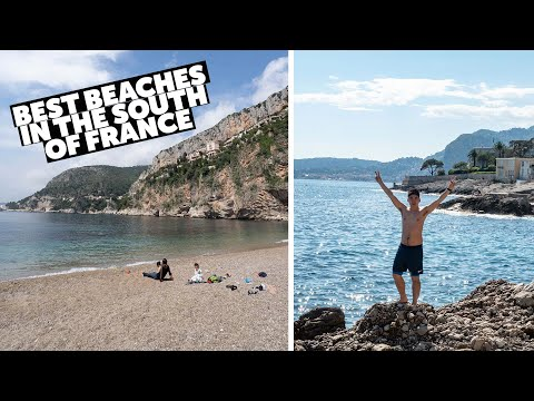 BEACHES IN THE SOUTH OF FRANCE - Nice - Cote D'Azur - French Riviera