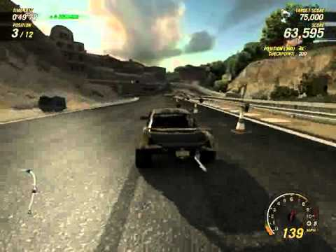 Flatout Ultimate Carnage  Unlocking the Road King