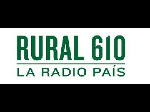 RADIO RURAL 610.   AM 610 -  MONTEVIDEO   (URUGUAY)