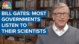 Bill Gates criticizes U.S. Covid-19 response: M๐st governments listen to their scientists