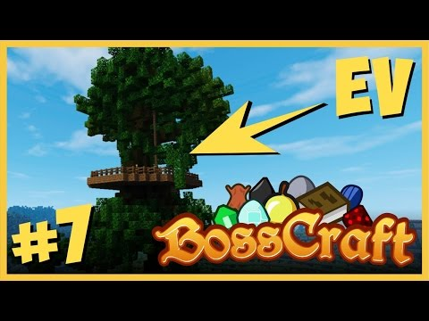 Efsane Ağaç Evi Yaptık - Minecraft Shader Survival - BossCraft #7